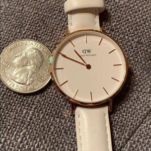 Daniel Wellington white watch